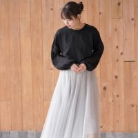 チュールスカートの秋コーデ【2020】大人女性ならではのお手本コーデをご紹介