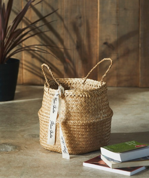[JACK & MARIE] Marie Miller SEAGRASS BASKET シーグラスバスケット S