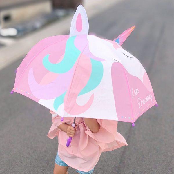 かわいいダイカットのキッズ傘