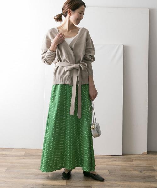 [URBAN RESEARCH] 小紋幾何柄マーメイドスカート