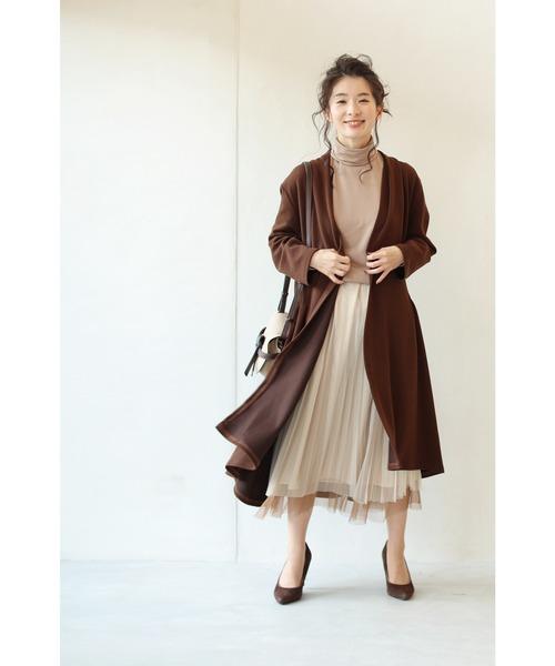 [FRENCH PAVE] 柔らかく重ねたチュール。グラデーションベールスカート