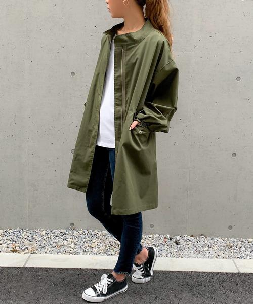 10月下旬の服装|ジップジャケット×スキニーパンツ
