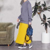 40代女性の秋のスニーカーコーデ【2020】きちんと見えする履きこなし方