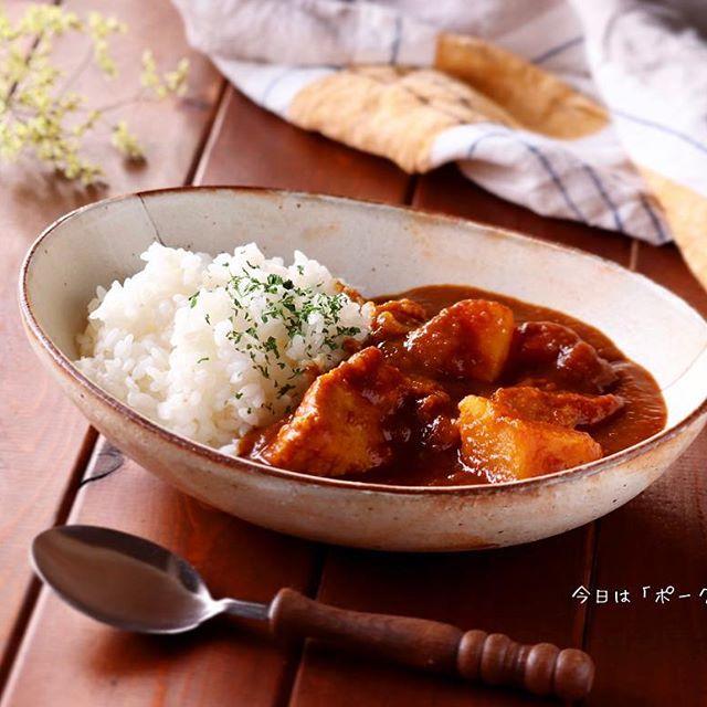 スパイスカレーの本格的なレシピ☆鶏・豚・牛2
