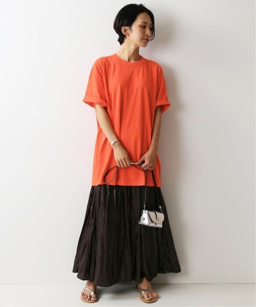 [JOURNAL STANDARD] 【LA APPAREL / ロサンゼルスアパレル】 6.5oz Garment Dye C/N T:Tシャツ◆