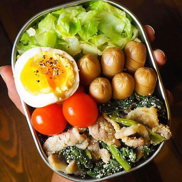 小松菜を使った簡単常備菜14