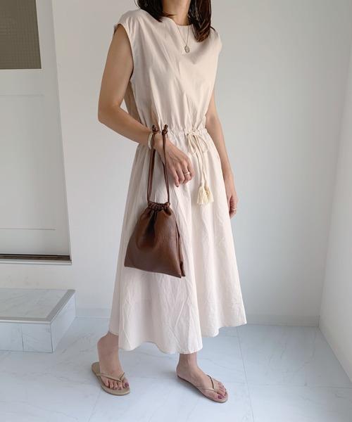 [Outfitter lab] 2WAY 巾着 ミニショルダー