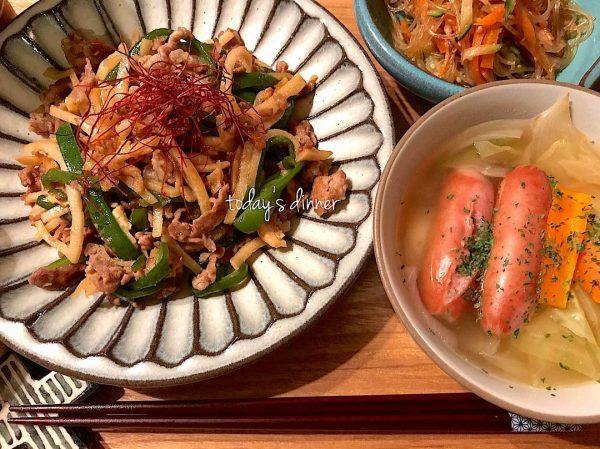中華料理の定番おかず!春雨サラダ