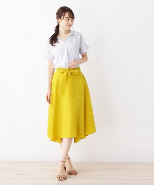 [WORLD ONLINE STORE SELECT] 綿ローンスキッパーシャツ