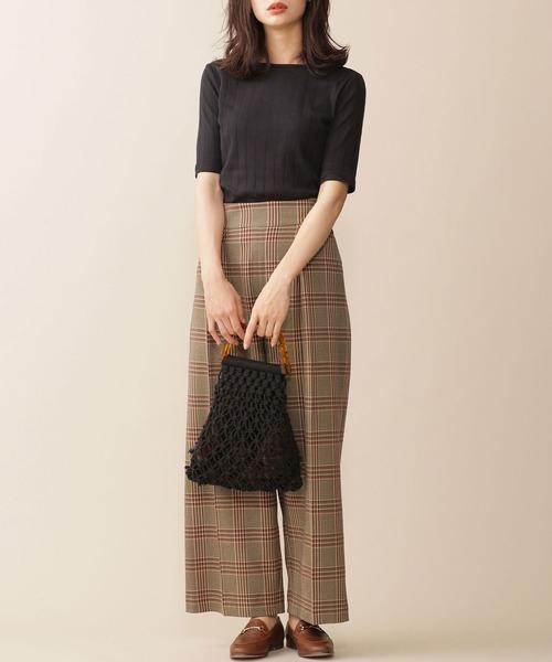 【東京】10月に最適の服装|パンツ3