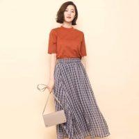 オレンジTシャツコーデ特集【2020】色が映える上手な着こなし方をご紹介!