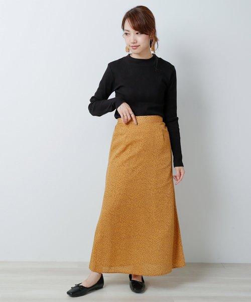 [Ray Cassin] フラワーペタルナロースカート