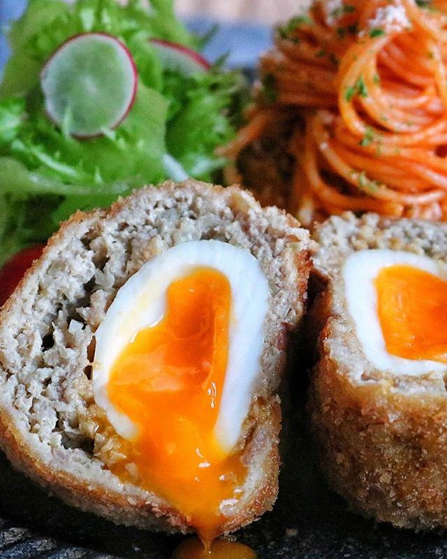 ゆで卵が美味しい!スコッチエッグ