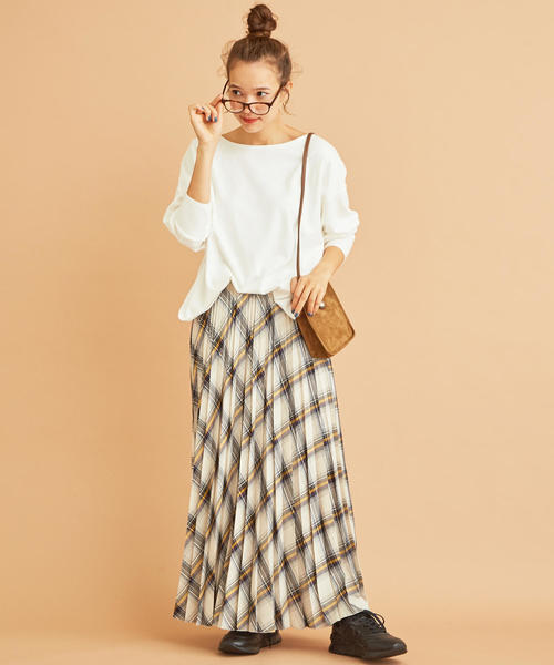 【東京】10月に最適の服装|スカート2