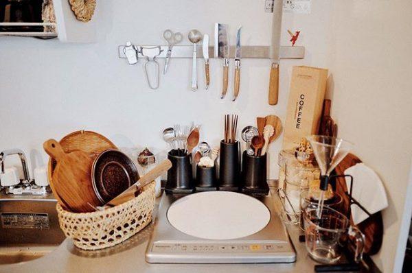 一人暮らしのコンパクトなキッチン2