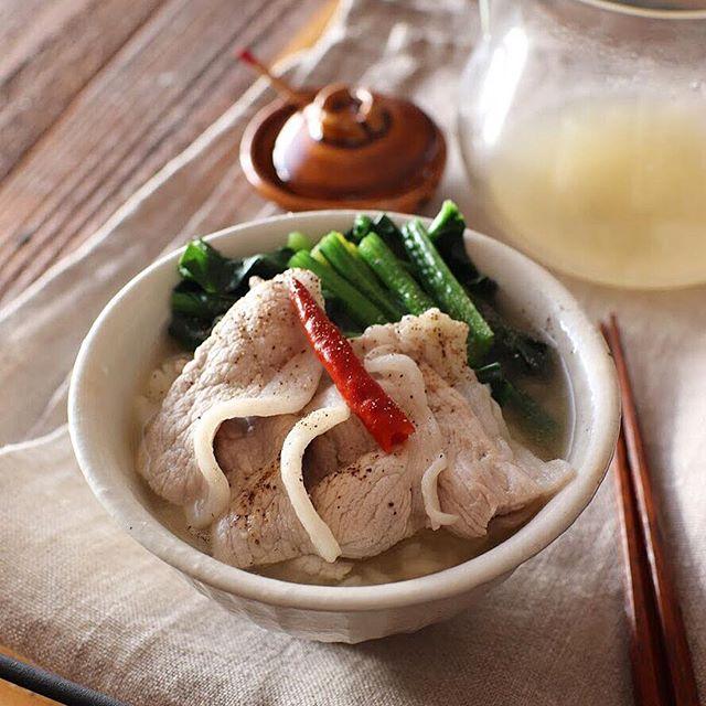 さっぱり食べたい時の夕飯メニュー☆主食7