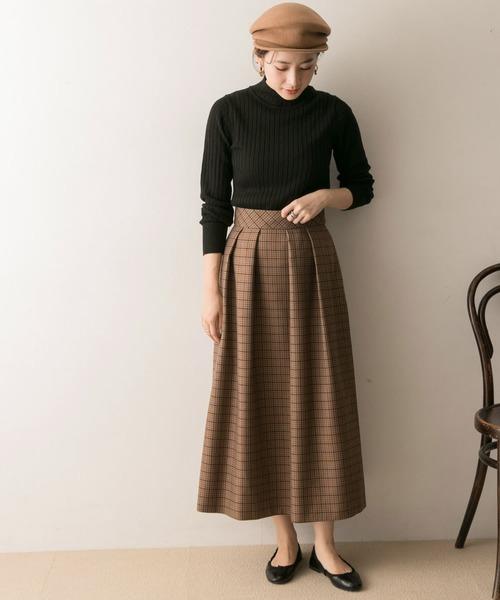 [URBAN RESEARCH] ガンクラブチェックフレアースカート