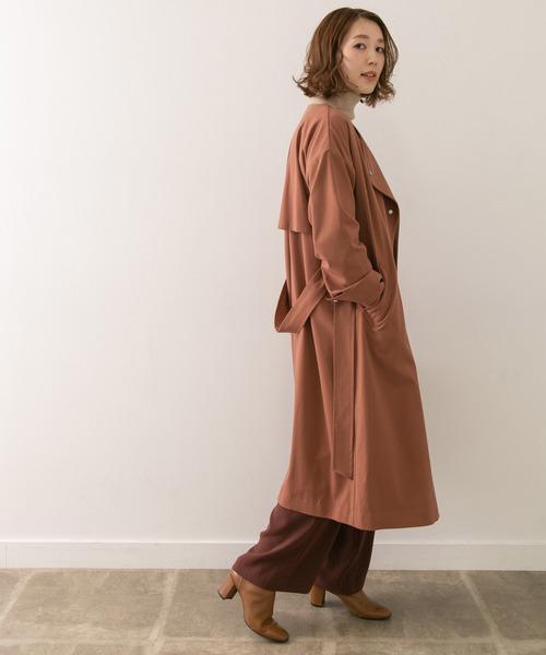 テロンチ×パンツの服装