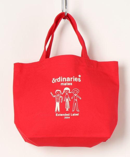 [ALL ORDINARIES] 【ordinaries mates】3人組プリントキャンバスランチトート