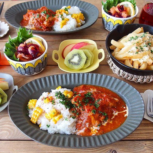 スパイスカレーの本格的なレシピ☆鶏・豚・牛7
