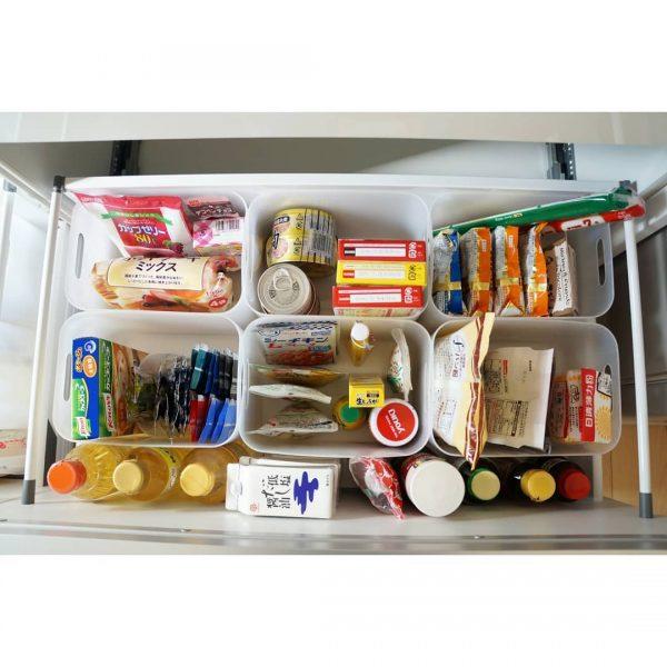 100均のケースで調味料・食品収納