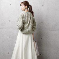 白デニムスカートコーデ【2020最新】きれいめカジュアルな着こなしを大公開!