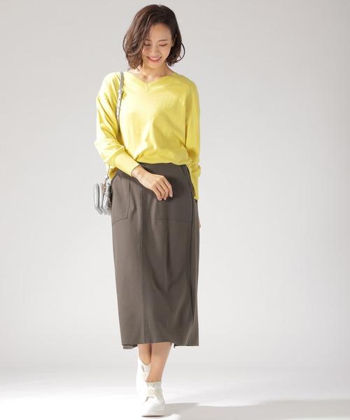 [BAYFLOW] キモウポンチスカート