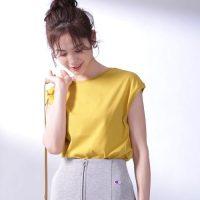 黄色のTシャツコーデ特集【2020】大人女性に馴染むおしゃれな着こなしを紹介!