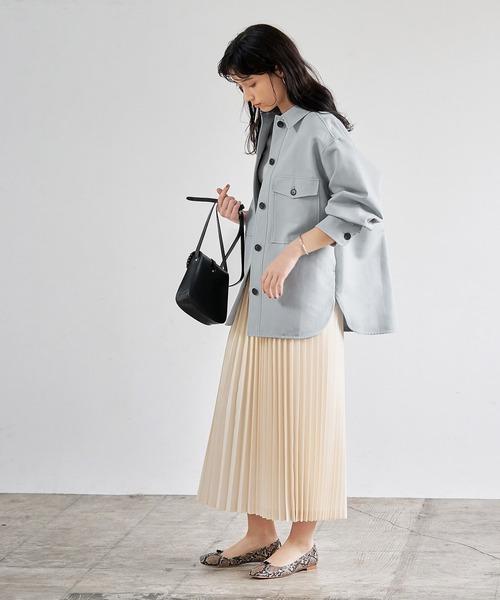 【東京】10月に最適の服装|スカート5