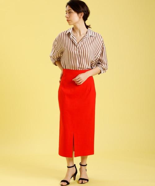 [SUPERIOR CLOSET] ハイウエストタイトスカート《PONTETORTO》【STORY5月号掲載】