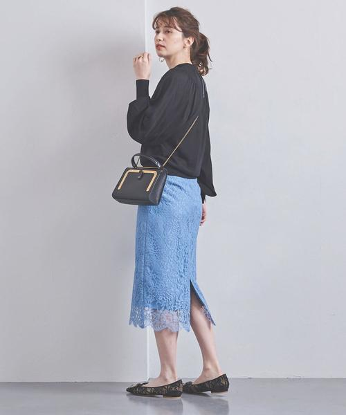 [UNITED ARROWS] UBCS リバーレース タイトスカート 20SS