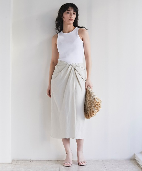 [GALLARDAGALANTE] ツイストタイトスカート