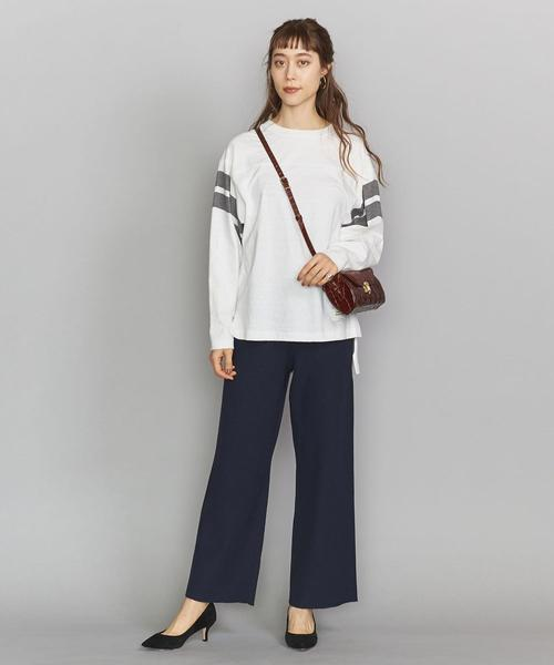 [BEAUTY&YOUTH UNITED ARROWS] BY リブニットパンツ -ウォッシャブル-