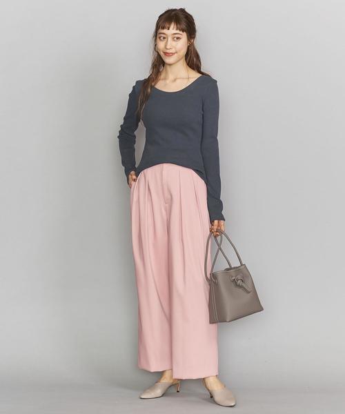 【東京】10月に最適の服装|パンツ4