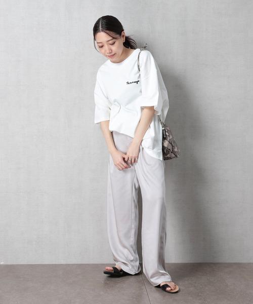 [FREAK'S STORE] 【WEB限定】PENNEYS/ペニーズ 別注ロゴ刺繍Tシャツ