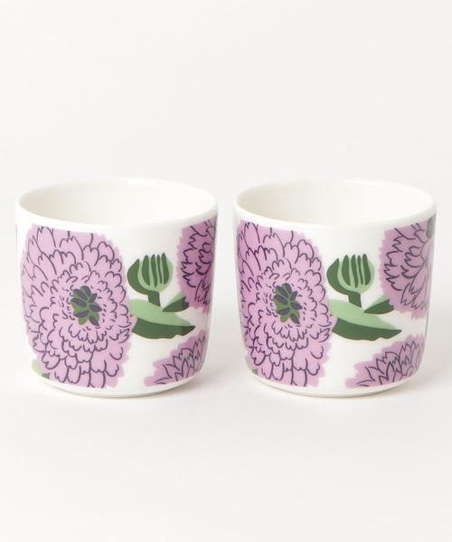 [marimekko] PRIMAVERA / COFFEE CUP 2PCS WITHOUT