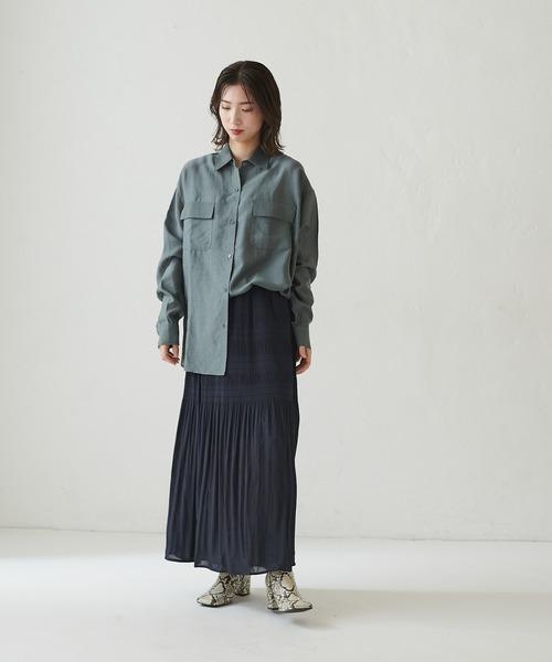[CIAOPANIC] マジョリカプリーツロングスカート