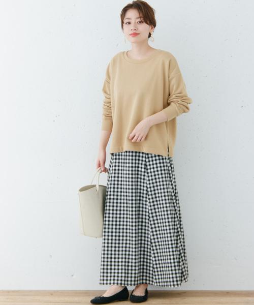 福岡 10月 服装 スカート6