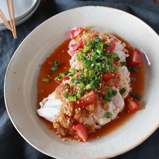 さっぱり食べたい時の夕飯メニュー☆主菜9