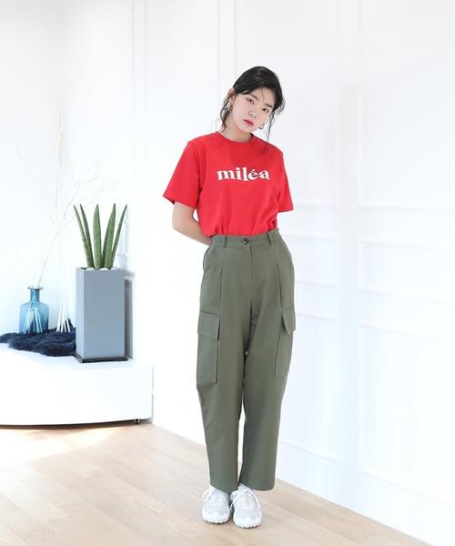 [UNE MANSION] シンプル ロゴ Tシャツ
