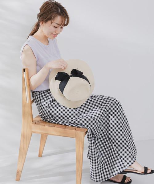 [URBAN RESEARCH] リネンフレンチロングスカート