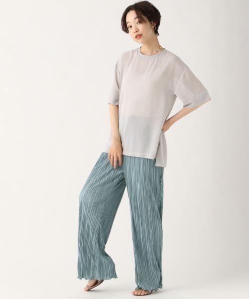 [apart by lowrys] PシアーTシャツ 910377