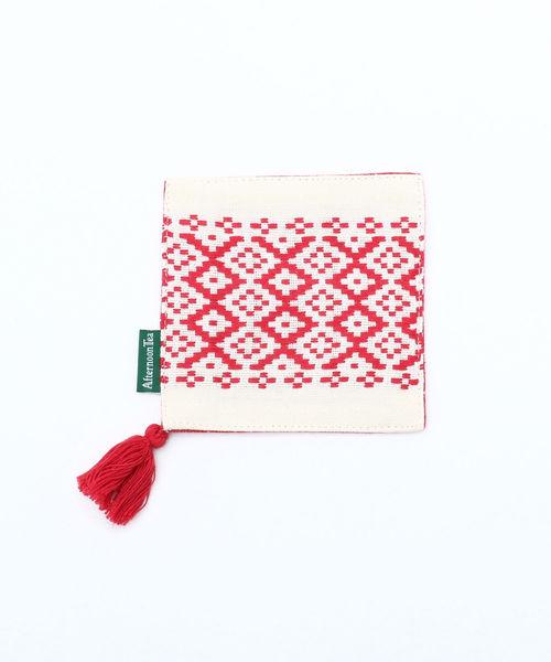 ドビー織のおしゃれな布コースター