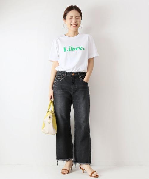 ロゴTシャツの夏コーデ