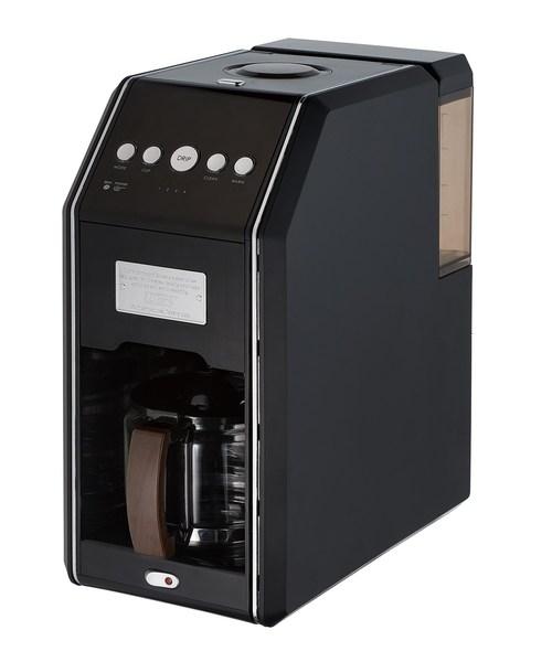 [WORLD ONLINE STORE SELECT] Toffy (トフィー) 全自動ミル付4カップコーヒーメーカー リッチブラック