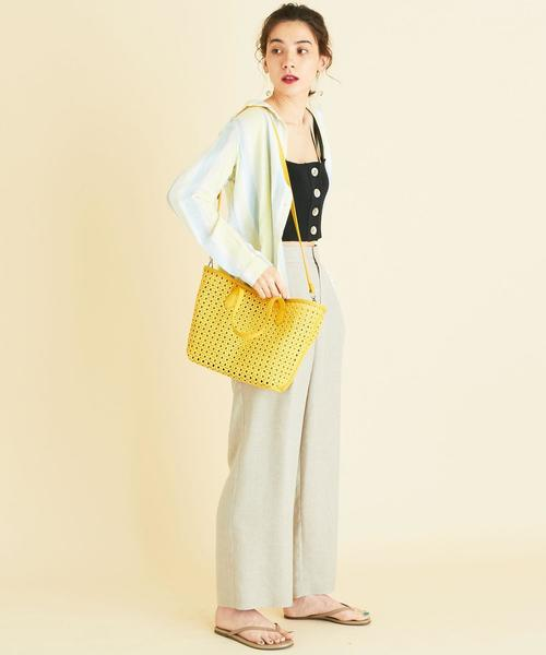 [BEAUTY&YOUTH UNITED ARROWS] BY∴ メッシュインポーチトートバッグ -3WAY-