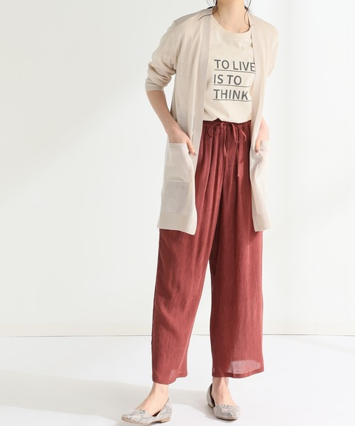 [Honeys] 7分袖トッパーカーデ