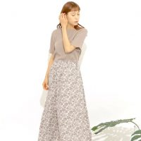 「スカート」で楽しむ大人ファッション♡暑い日もストレスフリーな夏コーデ