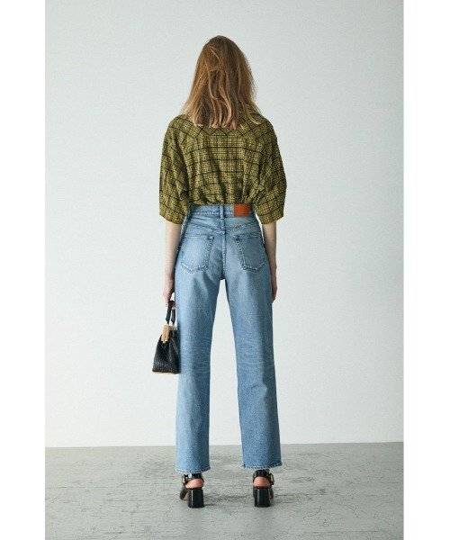 [MOUSSY] SUCKER CHECK LOOSE シャツ