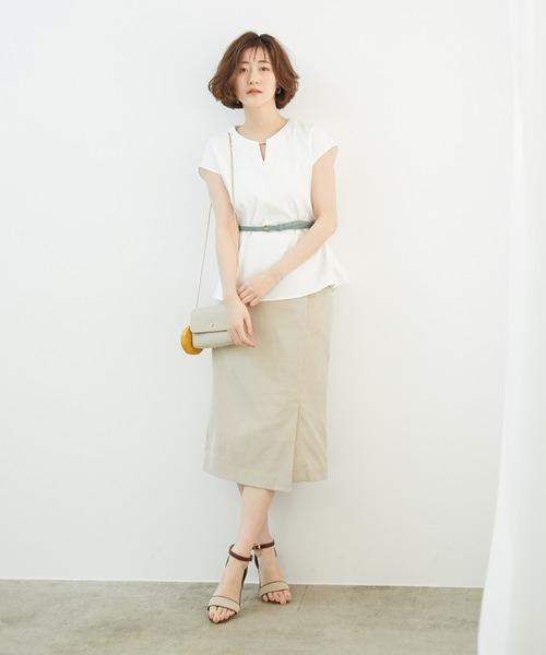 夏 スカート コーデ1